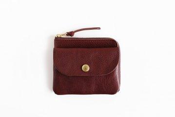 CINQ/小さめの財布(ダークブラウン)