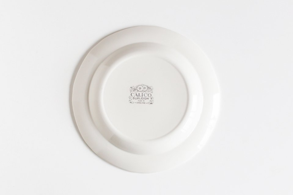 Burleigh/CALICO/プレート(ダブグレイ・21.5cm)