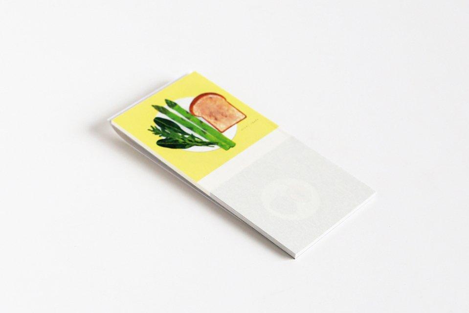 cozyca products/一筆箋/SEASON(4柄×5枚綴り)