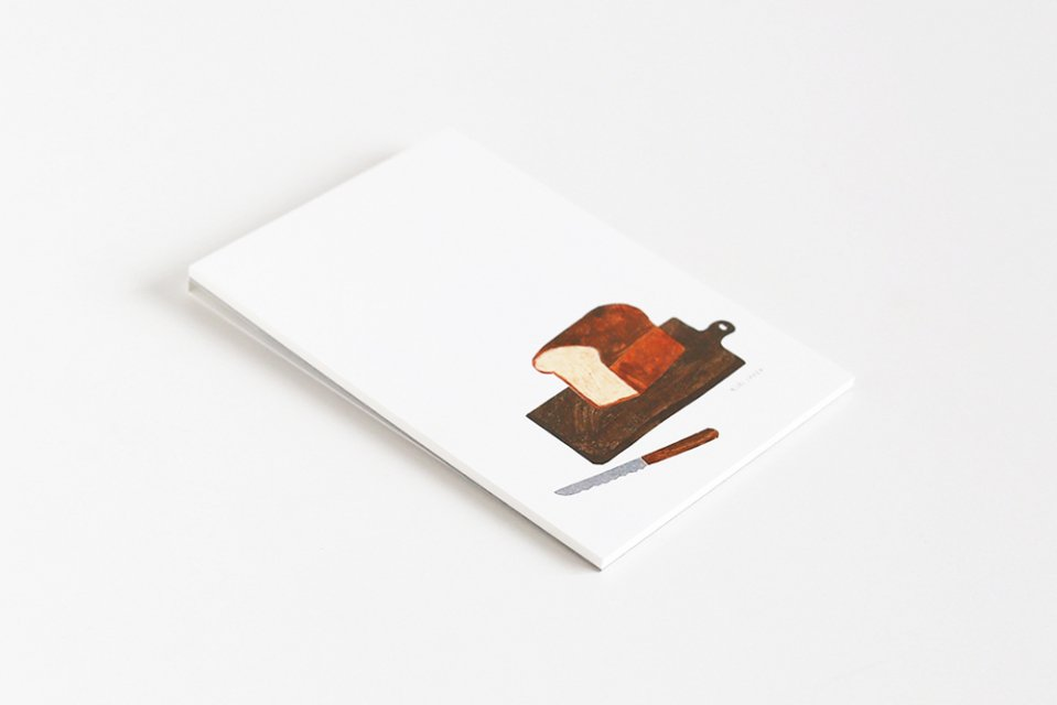 cozyca products/ハガキ箋/BREAD(5柄×2枚綴り)