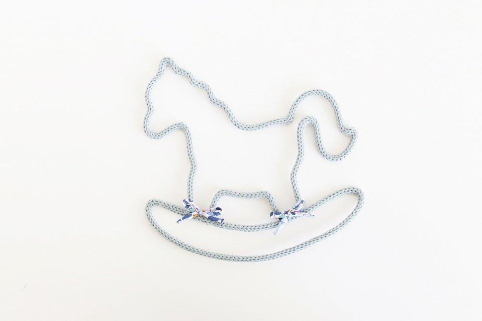 Petit Etoile/ウールレター/Rocking horse