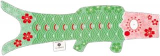 【25%OFF】Madame Mo「KOINOBORI (Tender Green)」