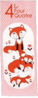 Madame Mo「TENUGUI (Foxes)」