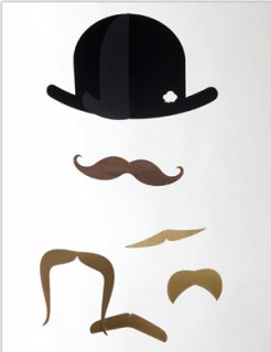 <img class='new_mark_img1' src='//img.shop-pro.jp/img/new/icons16.gif' style='border:none;display:inline;margin:0px;padding:0px;width:auto;' />【40%OFF】Mister Moustache Gold Edition (口ひげのモビール)