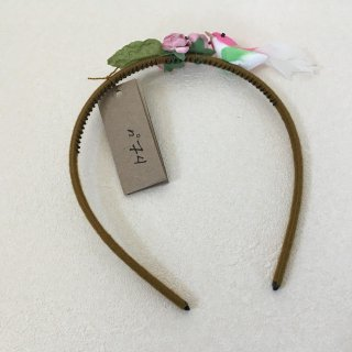 Numero74「Bird Headband (Green-Pink)」