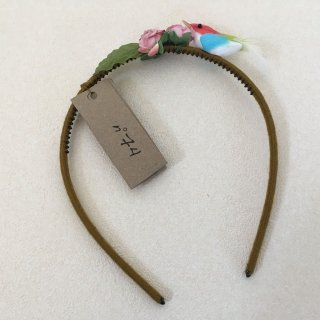 Numero74「Bird Headband (Red-Lightblue-Yellow)」