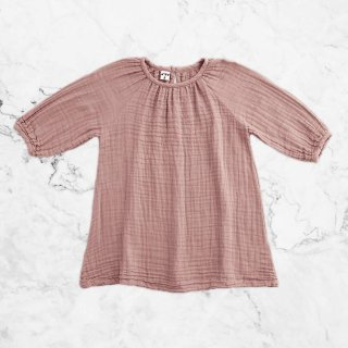 Numero74「Nina Dress (Dusty Pink) 1-2Y」