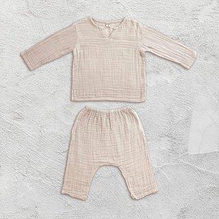 Numero74「Zac Suit Shirt & Pants (Powder)」