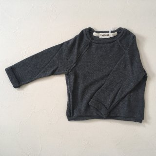 <img class='new_mark_img1' src='//img.shop-pro.jp/img/new/icons23.gif' style='border:none;display:inline;margin:0px;padding:0px;width:auto;' />【40%OFF】tree house「LULI pullover (chaecoal) 18m,24m」2017-FW