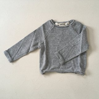 <img class='new_mark_img1' src='//img.shop-pro.jp/img/new/icons23.gif' style='border:none;display:inline;margin:0px;padding:0px;width:auto;' />【40%OFF】tree house「LULI pullover (light grey) 18m,24m」2017-FW