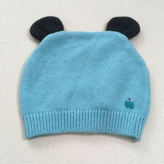 <img class='new_mark_img1' src='//img.shop-pro.jp/img/new/icons16.gif' style='border:none;display:inline;margin:0px;padding:0px;width:auto;' />【30%OFF】The Bonnie Mob「Knitted Hat with Ears (Pale Blue) 12m-24m」2017-AW
