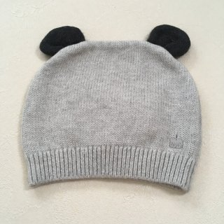<img class='new_mark_img1' src='//img.shop-pro.jp/img/new/icons16.gif' style='border:none;display:inline;margin:0px;padding:0px;width:auto;' />【30%OFF】The Bonnie Mob「Knitted Hat with Ears (Pale Grey) 12m-24m」2017-AW
