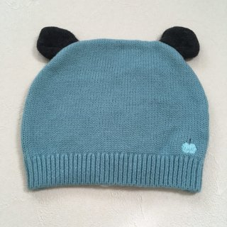 <img class='new_mark_img1' src='//img.shop-pro.jp/img/new/icons16.gif' style='border:none;display:inline;margin:0px;padding:0px;width:auto;' />【30%OFF】The Bonnie Mob「Knitted Hat with Ears (Teal) 12m-24m」2017-AW