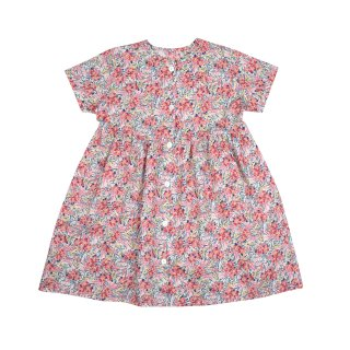<img class='new_mark_img1' src='//img.shop-pro.jp/img/new/icons14.gif' style='border:none;display:inline;margin:0px;padding:0px;width:auto;' />【30%OFF】bebe organic「Helena dress (Liberty red) 18m 2y」2018-SS