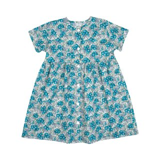 <img class='new_mark_img1' src='//img.shop-pro.jp/img/new/icons14.gif' style='border:none;display:inline;margin:0px;padding:0px;width:auto;' />bebe organic「Helena dress (Liberty blue) 18m 2y」2018-SS