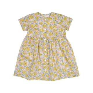 <img class='new_mark_img1' src='//img.shop-pro.jp/img/new/icons14.gif' style='border:none;display:inline;margin:0px;padding:0px;width:auto;' />【30%OFF】bebe organic「Helena dress (Liberty yellow) 18m 2y」2018-SS