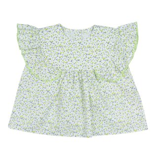 <img class='new_mark_img1' src='//img.shop-pro.jp/img/new/icons14.gif' style='border:none;display:inline;margin:0px;padding:0px;width:auto;' />【30%OFF】bebe organic「Emma top (Yellow ground) 3m 6m 12m 18m 2y」2018-SS