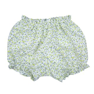 <img class='new_mark_img1' src='//img.shop-pro.jp/img/new/icons23.gif' style='border:none;display:inline;margin:0px;padding:0px;width:auto;' />【40%OFF】bebe organic「Sally bloomers (Yellow ground) 3m 6m 12m 18m」2018-SS