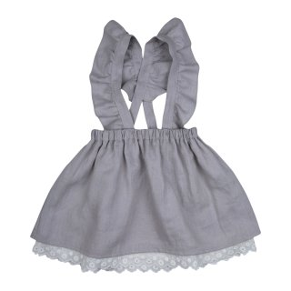 <img class='new_mark_img1' src='//img.shop-pro.jp/img/new/icons14.gif' style='border:none;display:inline;margin:0px;padding:0px;width:auto;' />bebe organic「Ingrid skirt (Grey) 2y」2018-SS