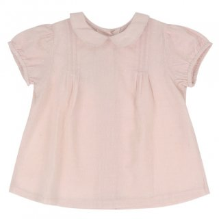 <img class='new_mark_img1' src='//img.shop-pro.jp/img/new/icons14.gif' style='border:none;display:inline;margin:0px;padding:0px;width:auto;' />Little Cotton Clothes「Mabel Blouse (Dobby Spot Blush) 12m-18m-2y-3y-4y」2018-SS