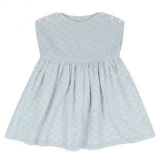 <img class='new_mark_img1' src='//img.shop-pro.jp/img/new/icons14.gif' style='border:none;display:inline;margin:0px;padding:0px;width:auto;' />Little Cotton Clothes「Lace Rosie Dress (Eggshell Blue) 18m-2y-3y-4y」2018-SS