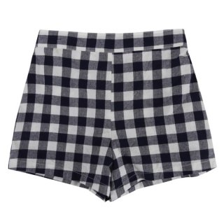 <img class='new_mark_img1' src='//img.shop-pro.jp/img/new/icons14.gif' style='border:none;display:inline;margin:0px;padding:0px;width:auto;' />Little Cotton Clothes「Whistable Shorts (Indigo Gingham) 18m-2y-3y」2018-SS