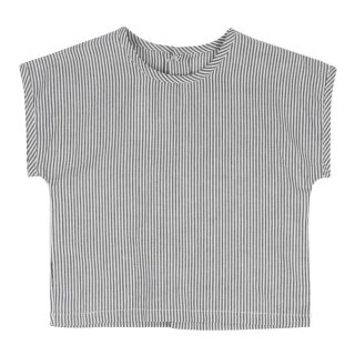 <img class='new_mark_img1' src='//img.shop-pro.jp/img/new/icons14.gif' style='border:none;display:inline;margin:0px;padding:0px;width:auto;' />Little Cotton Clothes「Margate Tee (Grey Stripe) 18m-2y-3y」2018-SS