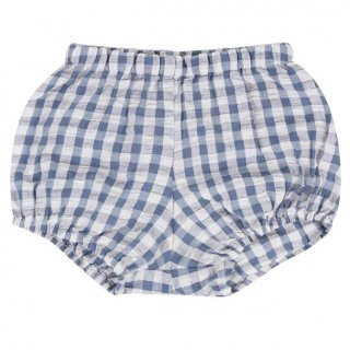 <img class='new_mark_img1' src='//img.shop-pro.jp/img/new/icons14.gif' style='border:none;display:inline;margin:0px;padding:0px;width:auto;' />Little Cotton Clothes「Poppy Bloomers (Blue Gingham Seersucker) 12m-18m」2018-SS