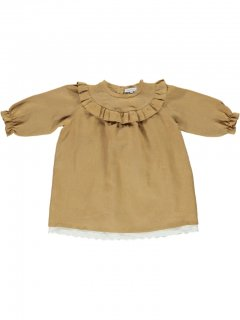 <img class='new_mark_img1' src='//img.shop-pro.jp/img/new/icons14.gif' style='border:none;display:inline;margin:0px;padding:0px;width:auto;' />bebe organic「Milja dress (Apple Cinnamon) 2y」2018-AW