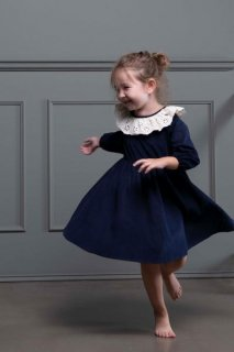 <img class='new_mark_img1' src='//img.shop-pro.jp/img/new/icons23.gif' style='border:none;display:inline;margin:0px;padding:0px;width:auto;' />【30%OFF】minimom「Charlotte Dress 1y-2y-3y-4y」2018-AW