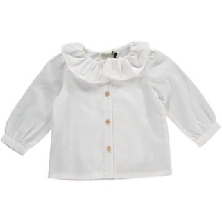 <img class='new_mark_img1' src='//img.shop-pro.jp/img/new/icons14.gif' style='border:none;display:inline;margin:0px;padding:0px;width:auto;' />Olivier「Wilma Shirt (Cream Cotton) 1y-2y-3y-4y」2018-AW