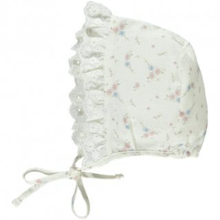 <img class='new_mark_img1' src='//img.shop-pro.jp/img/new/icons14.gif' style='border:none;display:inline;margin:0px;padding:0px;width:auto;' />bebe organic「Paris Bonnet (Floral Print) 9-12m」2019-SS
