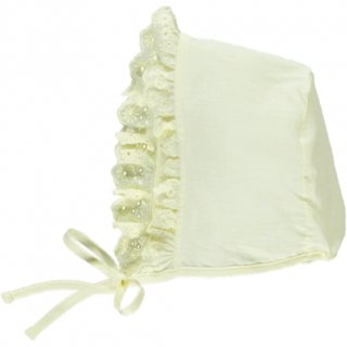 <img class='new_mark_img1' src='//img.shop-pro.jp/img/new/icons23.gif' style='border:none;display:inline;margin:0px;padding:0px;width:auto;' />【30%OFF】bebe organic「Paris Bonnet (Light Yellow) 18-24m」2019-SS