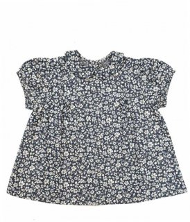 <img class='new_mark_img1' src='//img.shop-pro.jp/img/new/icons14.gif' style='border:none;display:inline;margin:0px;padding:0px;width:auto;' />Little Cotton Clothes「Mabel Blouse (Blue Floral) 12m-18m-2y-3y-4y」2019-SS
