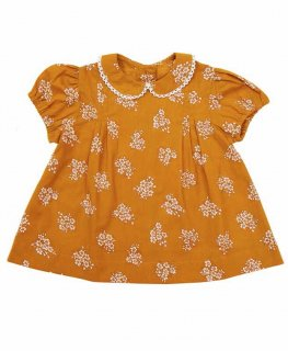 <img class='new_mark_img1' src='//img.shop-pro.jp/img/new/icons14.gif' style='border:none;display:inline;margin:0px;padding:0px;width:auto;' />Little Cotton Clothes「Mabel Blouse (Delicate Ginger Floral) 12m-18m-2y-3y-4y」2019-SS