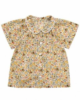 <img class='new_mark_img1' src='//img.shop-pro.jp/img/new/icons14.gif' style='border:none;display:inline;margin:0px;padding:0px;width:auto;' />Little Cotton Clothes「Pippa Blouse (Yellow Floral) 12m-18m-2y-3y-4y」2019-SS