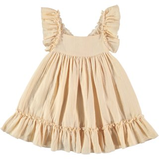 <img class='new_mark_img1' src='//img.shop-pro.jp/img/new/icons14.gif' style='border:none;display:inline;margin:0px;padding:0px;width:auto;' />liilu「pinafore dress (vanilla) 1y-2y-4y」 2019-SS
