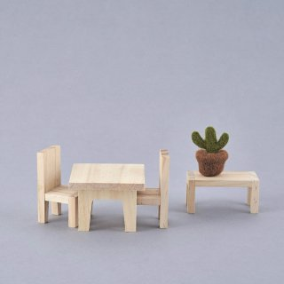 <img class='new_mark_img1' src='//img.shop-pro.jp/img/new/icons14.gif' style='border:none;display:inline;margin:0px;padding:0px;width:auto;' />Olli Ella「Holdie Dining Room Set」