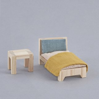 <img class='new_mark_img1' src='//img.shop-pro.jp/img/new/icons14.gif' style='border:none;display:inline;margin:0px;padding:0px;width:auto;' />Olli Ella「Holdie Single Bed Set」