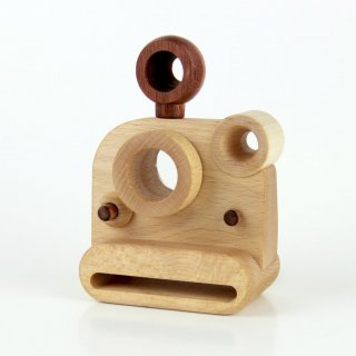 Father's Factory「Polaroid Style Wooden Toy Camera」