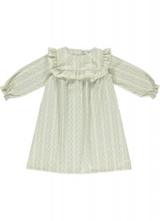 <img class='new_mark_img1' src='//img.shop-pro.jp/img/new/icons23.gif' style='border:none;display:inline;margin:0px;padding:0px;width:auto;' />【30%OFF】bebe organic「Gabriella dress (Vintage flowers)」2019-AW
