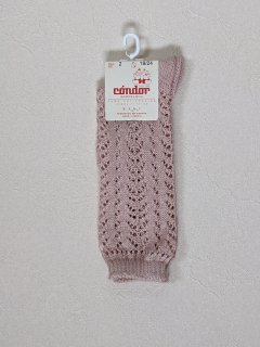 condor「Cotton Openwork Knee High Socks (col544)」