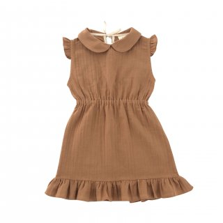 <img class='new_mark_img1' src='//img.shop-pro.jp/img/new/icons14.gif' style='border:none;display:inline;margin:0px;padding:0px;width:auto;' />LiiLU ORGANICS「penelope dress (terracotta)」 2020-SS