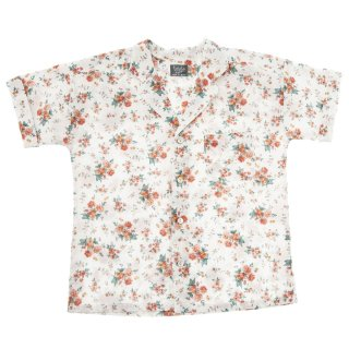 <img class='new_mark_img1' src='//img.shop-pro.jp/img/new/icons14.gif' style='border:none;display:inline;margin:0px;padding:0px;width:auto;' />tocoto vintage「Flowers pyjama style shirt (Flowers)」2020-SS