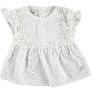 <img class='new_mark_img1' src='//img.shop-pro.jp/img/new/icons14.gif' style='border:none;display:inline;margin:0px;padding:0px;width:auto;' />tocoto vintage「Swiss embroidered baby blouse with lace (Offwhite)」2020-SS