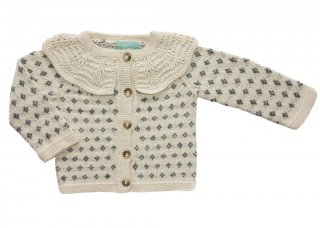 <img class='new_mark_img1' src='//img.shop-pro.jp/img/new/icons23.gif' style='border:none;display:inline;margin:0px;padding:0px;width:auto;' />【30%OFF】MIOU KIDS「Blossom Cardigan (Cream/Blue)」2020-SS