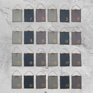 <img class='new_mark_img1' src='//img.shop-pro.jp/img/new/icons14.gif' style='border:none;display:inline;margin:0px;padding:0px;width:auto;' />Numero74「Advent Calendar Gift Bags (Mix Blue)」