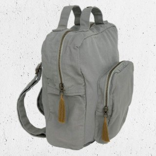 <img class='new_mark_img1' src='//img.shop-pro.jp/img/new/icons14.gif' style='border:none;display:inline;margin:0px;padding:0px;width:auto;' />Numero74「Backpack Canvas (Silver Grey)」