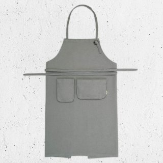 <img class='new_mark_img1' src='//img.shop-pro.jp/img/new/icons14.gif' style='border:none;display:inline;margin:0px;padding:0px;width:auto;' />Numero74「Apron Kid (Silver Grey)」