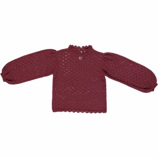 <img class='new_mark_img1' src='//img.shop-pro.jp/img/new/icons14.gif' style='border:none;display:inline;margin:0px;padding:0px;width:auto;' />bebe organic「Katerina Sweater (Burgundy)」2020-AW